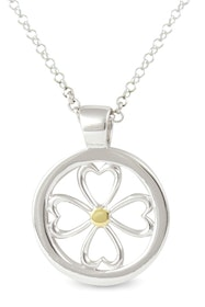"""Silverhalsband """"Lucky in Love"""" Sphere of Life"""
