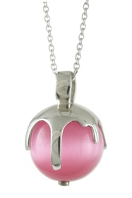 """Silverhalsband """"Melting Moments PINK"""" Sphere of Life"""
