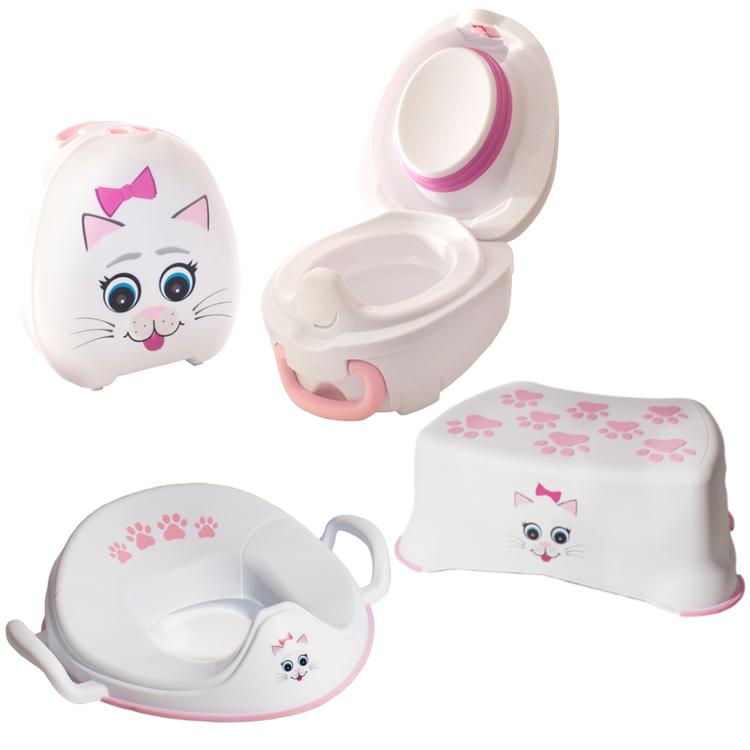 My Carry Potty CAT - pott- och toalettträningsset
