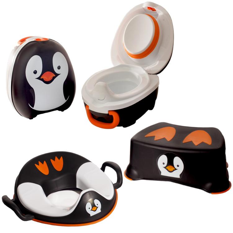 My Carry Potty PENGUIN - pott- och toalettträningsset