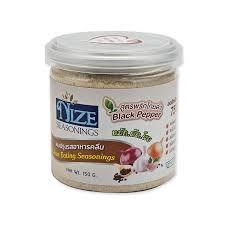NIZE Seasonings Black Pepper 150g - Keto Friendly