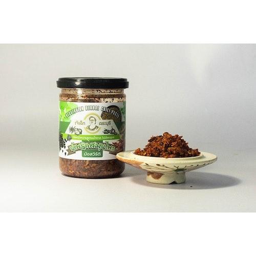 Vegetarian herbal chili paste ( สูตรคลีน )