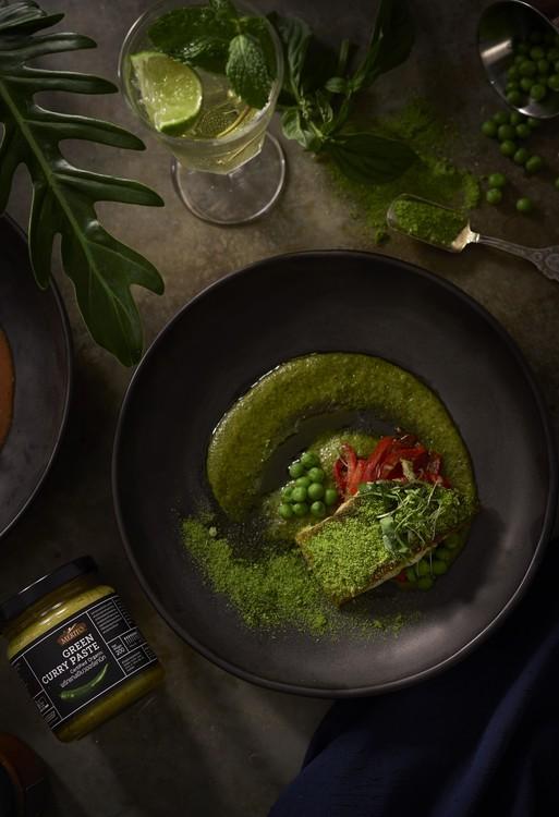 MeritO Organic Thai  Vegan Cooking  Set  Green Curry ( 200g )