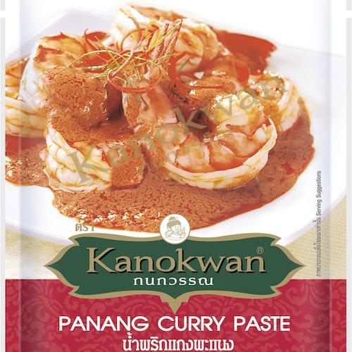 Kanokwan - Panang Vegan Keto Curry Paste 50g (น้ำพริกแกงพะแนงมังสวิรัติ)