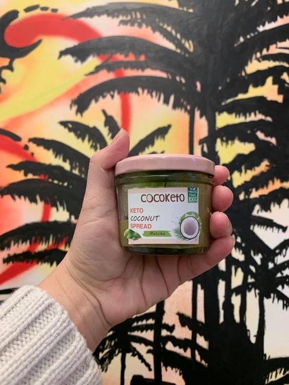 Keto Coconut Spread ( Double Coconut with matcha )