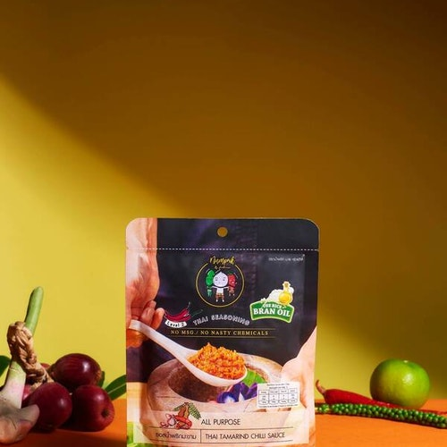 Thai Tamarind Vegan Sauce ( ซอสน้ำพริกมะขามมังสวิรัติ)