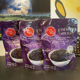 Konjac Mix Riceberry Rice Set  ( Ready to Eat )