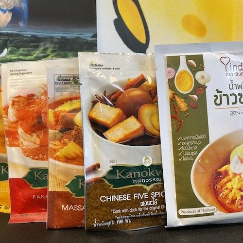 Vegan Chili Curry Paste Set ( Keto )