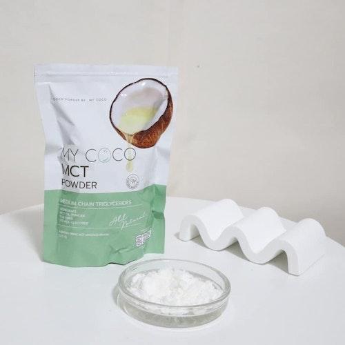 MCT Oil Powder Keto น้ำมันมะพร้าวสกัดเย็นแบบผง