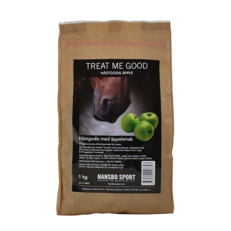 Hästgodis med äppelsmak 1 kg
