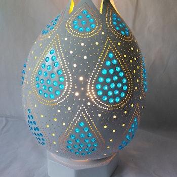 Kalebass lampa - Droppen