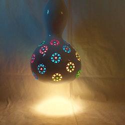Kalebass lampa - Blomman