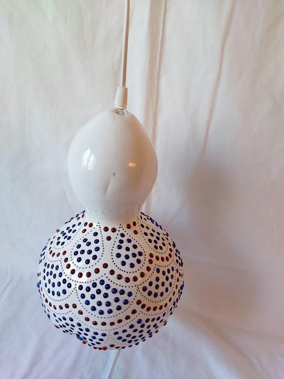 Kalebass lampa - Volang