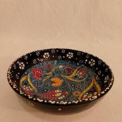 Keramik skål 12cm svart