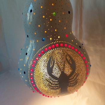 Kalebass lampa - Kräftan