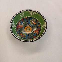 Keramik skål - Ljusgrön 8 cm