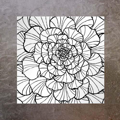 Kort Full Flower