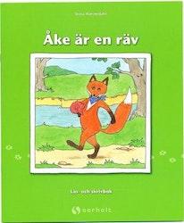 Åke är en räv - skrivpyssel
