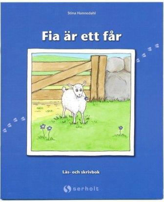 Fia är ett får - skrivpyssel
