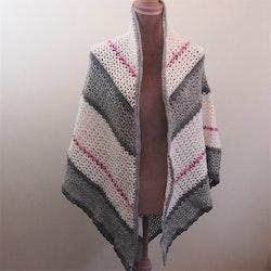 Extra stor värmande sjal