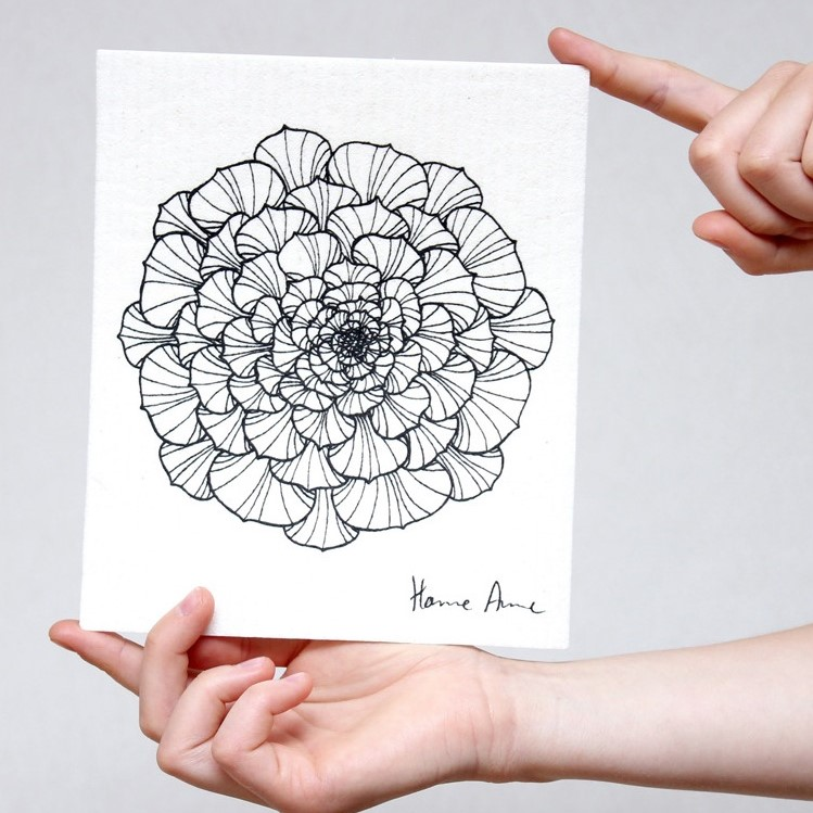 Disktrasa Round Flower