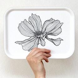 Liten bricka One Flower