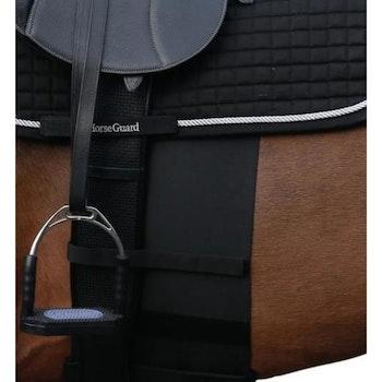 Horse sensitive bandage svart