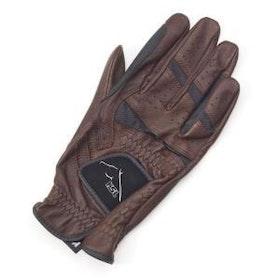 RSL Ascot mörkbrun handske