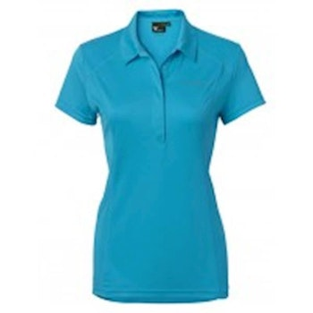 Stierna Halo Polo ss Cyan blue