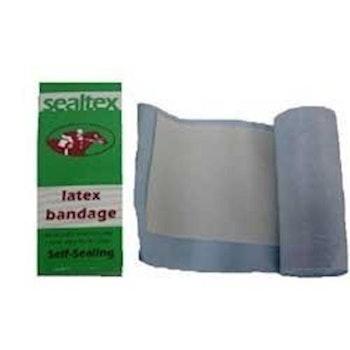 Latex bandage för bett
