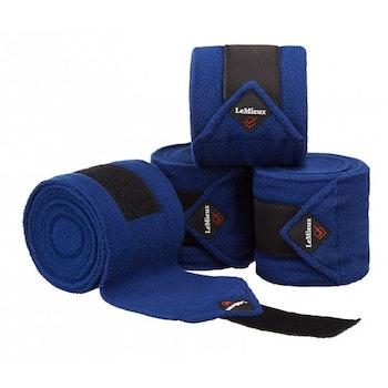 Lemieux Luxury Polo bandages Benetton blue full