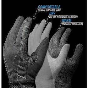 Pro Touch Waterproof handskar svart
