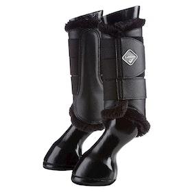 Lemieux Fleece Benskydd svart/svart