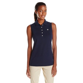 Ariat Prix sleeveless polo blå