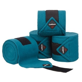 Lemieux Luxury polo bandages peacock full