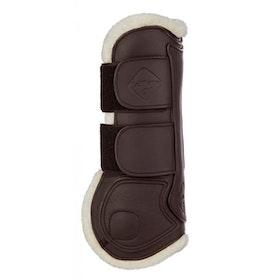 Lemieux Capelle senskydd brun i läder