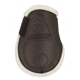 LeMieux Capella Comfort kotskydd brun i läder