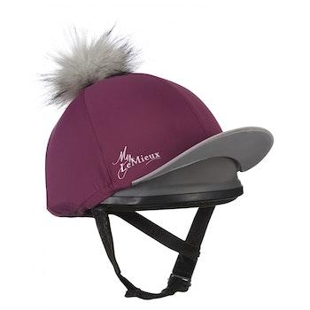 Lemieux Hjälm hatt plum/grey