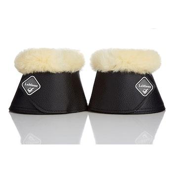 Lemieux boots med lammskinn svart/natur