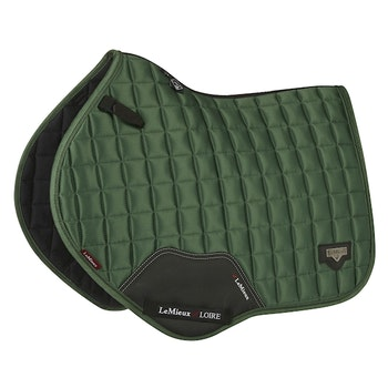 Lemieux Loire satin hopp hunter green full