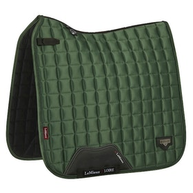 Lemieux Loire satin dressyr hunter green full