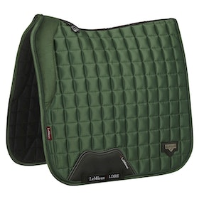 Lemieux Loire satin dressyr hunter green full. På väg in i lager.