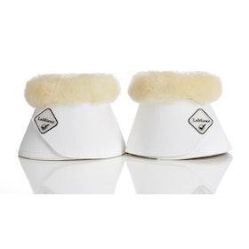 Lemieux boots med lammskinn vit/natur
