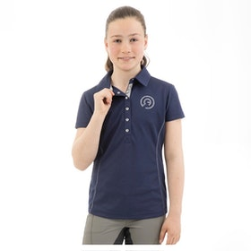 Anky Essential polo Shirt Girls dark blue
