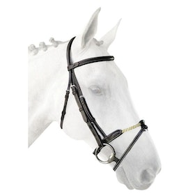 Silver Crown bridle träns med repnosgrimma full