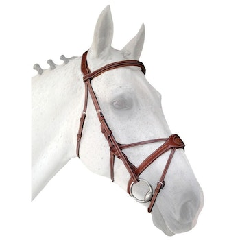 Silver Crown bridle träns Spider full