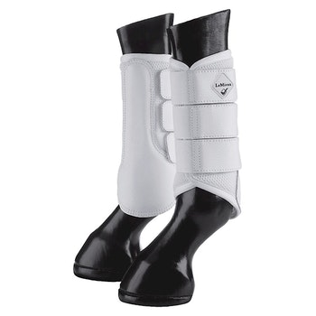 Lemieux ProSport Mesh Brushing Boot White