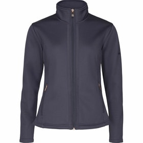 Equipage Cambria Zip cardigan blå
