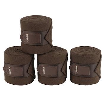 Eskadron Fleece Bandage brun full