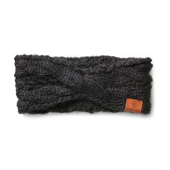 Ariat Cable pannband svart